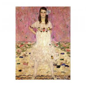 Tablou Eugenia Primavesi, MDF, roz/crem, 50 x 40 x 2 cm