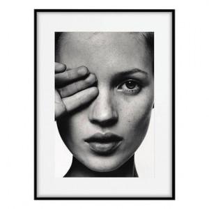 Tablou Kate Moss Face, 50x70 cm