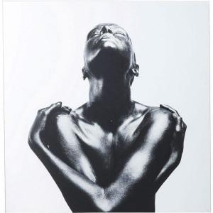 Tablou - sticlă Athlet, 120 x 120 cm