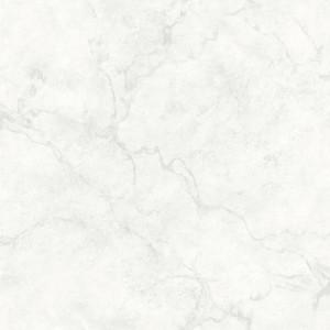 Tapet Innuendo Marble, Alb, 10 x 52 cm
