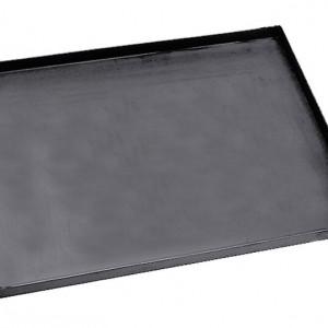 Tava pentru pizza, negru, 60 x 60 cm