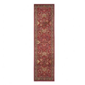 Traversa Gabrielle, roșu/ multicolor, 62 x 240 cm
