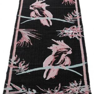 Traversa Kakadu by GMK Home & Living 90 x 250 cm, negru