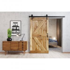 Usa glisanta Deephaven, lemn masiv, 220 x 100 x 4 cm