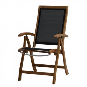 Scaun pliabil Fairchild -lemn de tec masiv