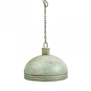 Abajur cu bol din metal de 48 cm