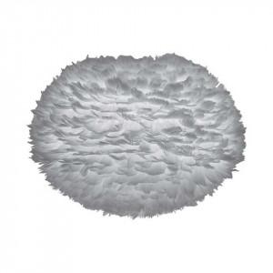 Abajur Eos, pene, gri, 65 x 40 cm
