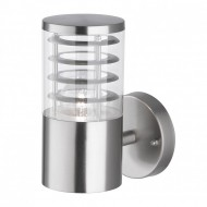 Aplica de perete Prato plastic/otel inoxidabil, argintiu, 1 bec, 220 V