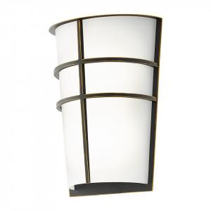 Aplica LED de exterior Breganzo plastic / otel, 2 becuri, argintiu, 240 V