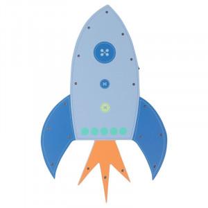 Aplica Ryne Rocket din MDF, 41 x 26 cm