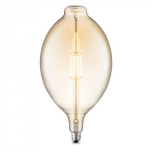 Bec DIY II, LED, metal/sticla, 18 x 33 x 18 cm, 4w