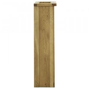 Bufet Rathdrum, 110x75x29 cm, lemn masiv de stejar