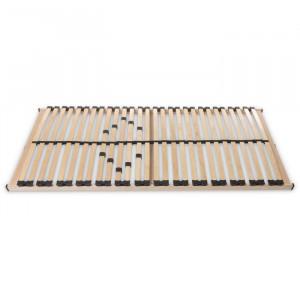 Cadru de pat cu lamele MAX 1 NV MZV, lemn, maro, 140 x 200 cm