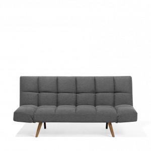 Canapea extensibilă INGARO, gri închis, 51/111 x 182 cm