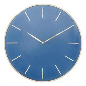 Ceas de perete Malibu albastru, 41cm
