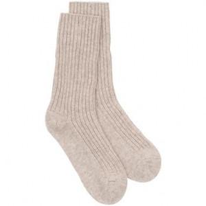 Ciorapi de cashmir termice Shari bej