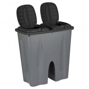 Cos de gunoi, plastic, 53 x 49,5 x 30 cm