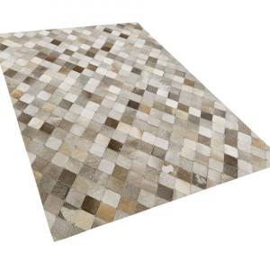 Covor Banaz, gri/maro, 140 x 200 cm