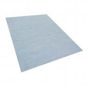 Covor Derince, bumbac, albastru deschis,160 x 230 cm