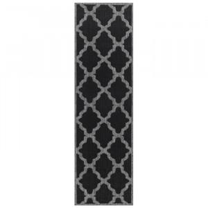 Covor DiPippo, negru, 60 x 180 cm