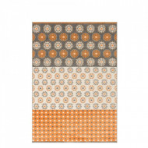 Covor Elisa by Home Affaire, portocaliu/ gri, 160 x 230 cm