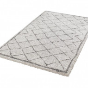 Covor Grace Diamond interior-exterior crem / gri, 80x150cm