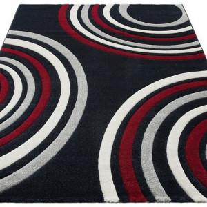 Covor Home Affaire, negru/rosu/alb, 80 x 150 cm