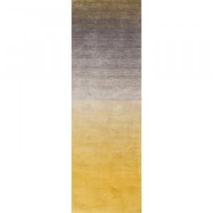 Covor Kral, gri/galben, 76 x 243 cm