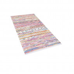 Covor lucrat manual Bartin, multicolor, 80 x 150 cm