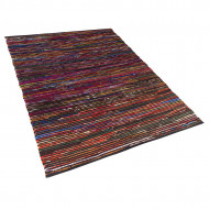 Covor lucrat manual Bartin, multicolor închis, 160 x 230 cm