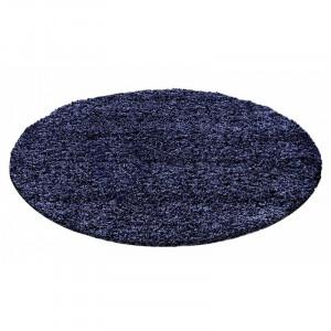 Covor Riam albastru închis, d. 120 cm