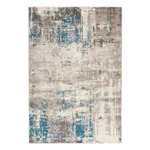 Covor Soho 2 ecru'/blu, 133x190 cm