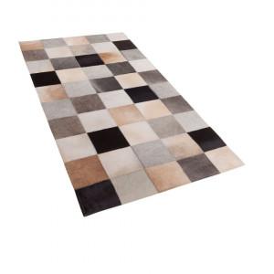 Covor Soke, piele, multicolor, 80 x 150 cm