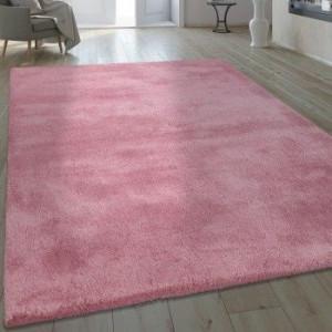 Covor tesut manual Trym, roz pudra 200 x 290 cm