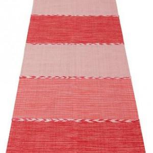 Covor tip traversa rosu 67 x 230 cm