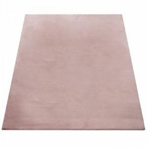 Covor Tiverton, poliester, roz, 200 cm