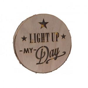 Decoratiune KARLL rotunda cu lumina LED