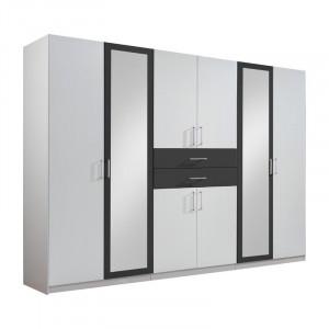 Dressing Niviarsiaq, alb/antracit, 210 x 270 x 58 cm