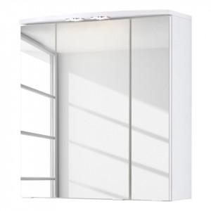 Dulapior cu oglinda Kopenhagen PAL, alb, 60 x 64 x 20 cm