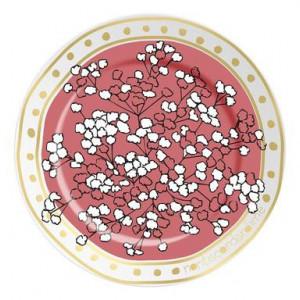 Farfurie decorativa Nu Ma Uita, roz
