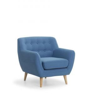 Fotoliu Motala, albastru, 77 x 80 x 76 cm