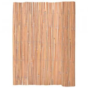 Gard din bambus, maro, 4 x 1,3 m