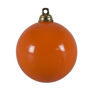 Glob Bauble portocaliu, d. 6cm