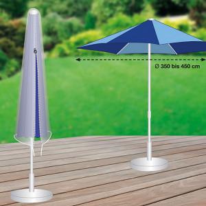Husa pentru umbrela Premium Marktschirm polister, gri, 35 x 60 x 240 cm