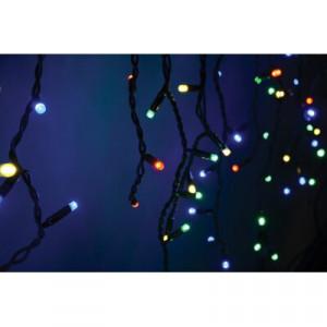 Instalație cu 100 de lumini, roșu/galben/verde, 200 cm