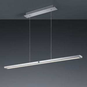Lustra tip pendul LED Silas aluminiu / plastic, 1 bec, argintiu, 230 V, 3000 K
