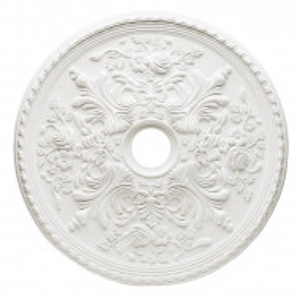 Medalion pentru tavan Anselme, alb, 71,1 x 71,1 cm