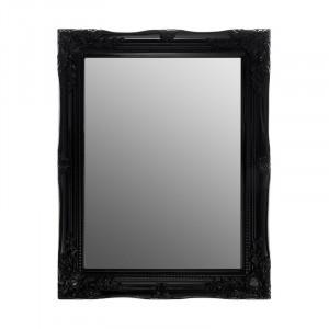 Oglinda Esquina cu cadru negru, 37 x 47 cm