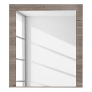 Oglinda Kisbey PAL/stejar, maro, 75 x 85 x 2 cm