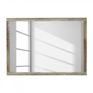Oglinda Tapara PAL, maro/gri, 97 x 70 x 2 cm